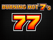Слот на деньги Burning Hot 7's