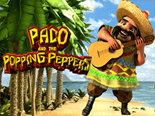 Слот на деньги Paco and Popping Peppers